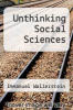 cover of Unthinking Social Sciences