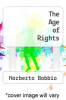 cover of The Age of Rights