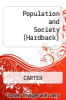 cover of Population and Society (1st edition)
