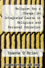 cover of Religion for a Change: An Integrated Course in Religious and Personal Education Teacher`s Book