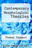 cover of Contemporary Morphological Theories