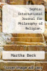 cover of Sophia: International Journal for Philosophy of Religion, Metaphysical Theology and Ethics