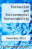cover of Ecotourism and Environmental Sustainability