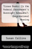 cover of Tissue Banks: Is the Federal Government`s Oversight Adequate?: Congressional Hearing