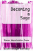 cover of Becoming a Sage