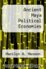 cover of Ancient Maya Political Economies