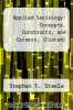 cover of Applied Sociology : Concepts, Constructs, and Careers, (Custom) (1st edition)