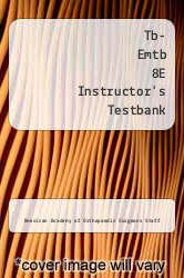 Cover of Tb- Emtb 8E Instructor