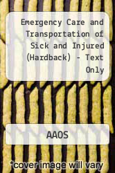 Cover of Emergency Care & Trans Of Sick Injured 10E 10 (ISBN 978-0763778491)