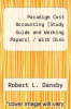 cover of Paradigm Cost Accounting (Study Guide and Working Papers) / With Disk