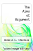 cover of The Aims of Argument