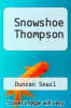 cover of Snowshoe Thompson