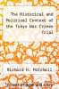 cover of The Historical and Political Context of the Tokyo War Crimes Trial