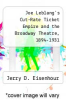 cover of Joe Leblang`s Cut-Rate Ticket Empire and the Broadway Theatre, 1894-1931