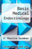 cover of Basic Medical Endocrinology (2nd edition)