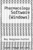 cover of Pharmacology Software (Windows) (1st edition)