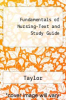 Fundamentals of Nursing-Text and Study Guide by Taylor - ISBN 9780781733137