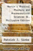 cover of Martin`s Physical Pharmacy and Pharmaceutical Sciences 5E, Philippine Edition