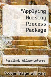 Cover of Applying Nursing Process Package  (ISBN 978-0781792769)
