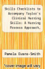 cover of Skills Checklists to Accompany Taylor`s Clinical Nursing Skills: A Nursing Process Approach, Philippines Edition