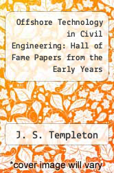 Cover of Offshore Technology in Civil Engineering: Hall of Fame Papers from the Early Years EDITIONDESC (ISBN 978-0784408711)