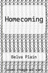 Homecoming by Belva Plain - ISBN 9780786212934