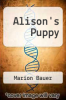 cover of Alison`s Puppy (1st edition)