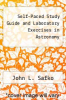 cover of Self-Paced Study Guide and Laboratory Exercises in Astronomy (9th edition)