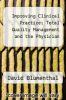 cover of Improving Clinical Practice: Total Quality Management and the Physician (1st edition)