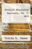 cover of Conflict Resolution Quarterly, No. 2, 2003 (2nd edition)