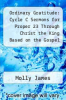 cover of Ordinary Gratitude: Cycle C Sermons for Proper 23 Through Christ the King Based on the Gospel Texts