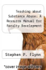 cover of Teaching about Substance Abuse: A Resource Manual for Faculty Development