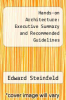 cover of Hands-on Architecture: Executive Summary and Recommended Guidelines