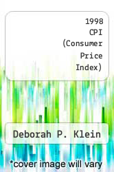 Cover of 1998 CPI (Consumer Price Index) EDITIONDESC (ISBN 978-0788144974)