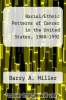 cover of Racial/Ethnic Patterns of Cancer in the United States, 1988-1992