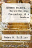 cover of Towards Beijing... Beyond Beijing: Proceedings of a Seminar