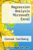 cover of Regression Analysis Microsoft Excel (1st edition)