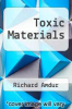 cover of Toxic Materials