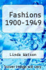 cover of Fashions 1900-1949