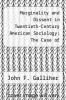 cover of Marginality and Dissent in Twentieth-Century American Sociology: The Case of Elizabeth Briant Lee and Alfred McClung Lee