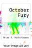 cover of October Fury