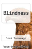 cover of Blindness