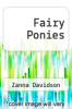cover of Fairy Ponies