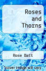 cover of Roses and Thorns