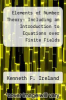 cover of Elements of Number Theory: Including an Introduction to Equations over Finite Fields