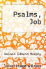 cover of Psalms, Job