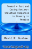 cover of Toward a Just and Caring Society: Christian Responses to Poverty in America