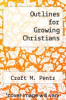 cover of Outlines for Growing Christians