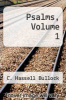 cover of Psalms, Volume 1