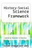 cover of History-Social Science Framework